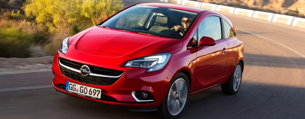 Opel представляет Corsa пятого поколения